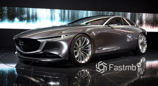 Mazda Vision Coupe 2017, вид спереди