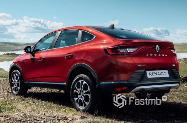 Renault Arkana 2020, вид сзади