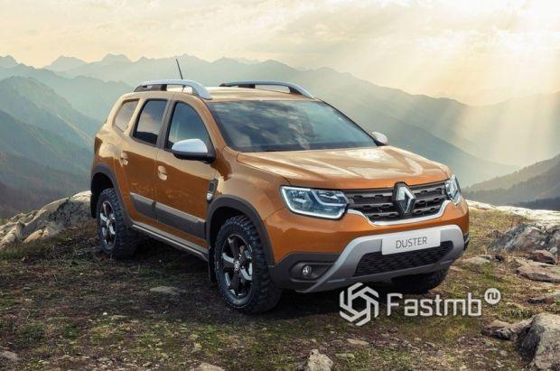 Renault Duster 2021, передняя оптика