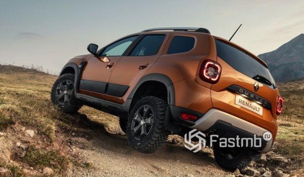 Renault Duster 2021, легкосплавные диски