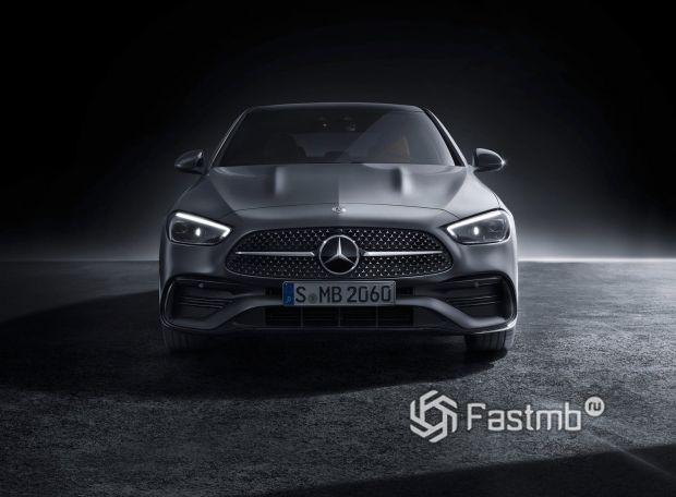 Mercedes-Benz C-Class 2022, решетка радиатора