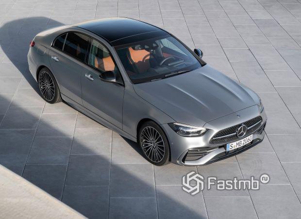 Mercedes-Benz C-Class 2021, крыша седана