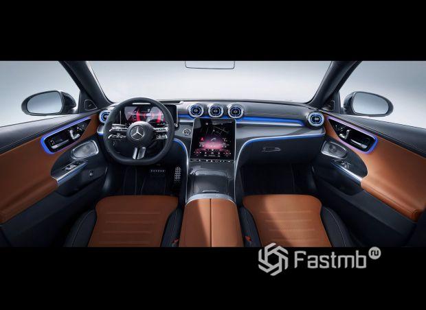 Mercedes-Benz C-Class 2021, передняя панель