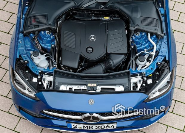 Mercedes-Benz C-Class 2022 универсал, двигатель