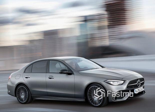 Mercedes-Benz C-Class 2021, светодиодная оптика