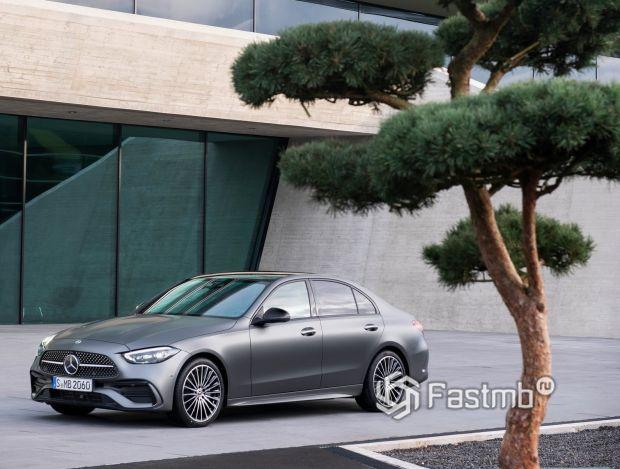 Mercedes-Benz C-Class 2021 седан, легкосплавные диски