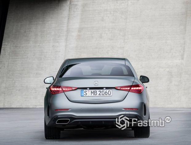 Mercedes-Benz C-Class 2021, задние LED стопы