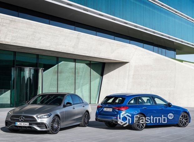 Mercedes-Benz C-Class 2021, седан и универсал