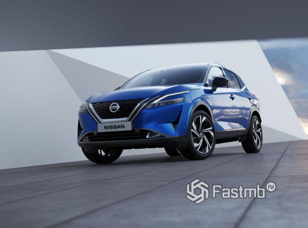Nissan Qashqai 2022, вид спереди