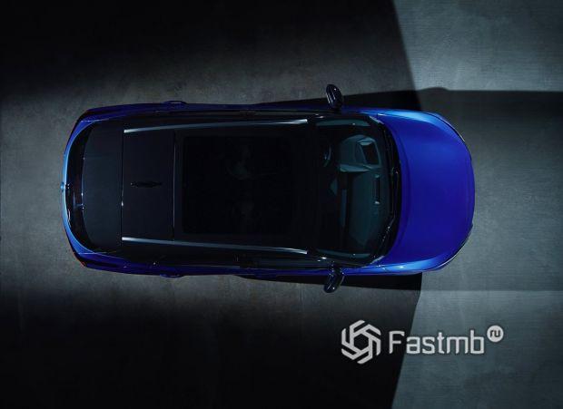 Nissan Qashqai 2022, панорамная крыша кроссовера
