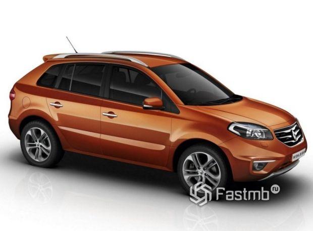 Renault Koleos 2011 рестайлинг, люк топливного бака