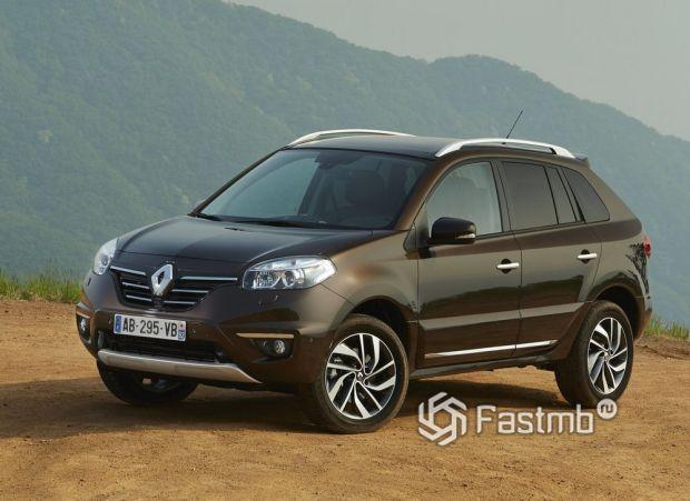 Renault Koleos 2013 2-ой рестайлинг, передняя оптика