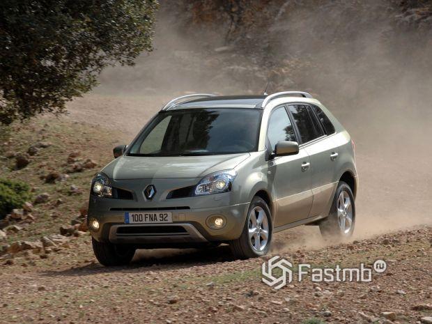 Renault Koleos 2007, передняя оптика