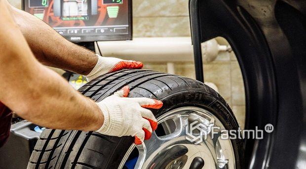 Дополнительная оплата за снятие и установку колес