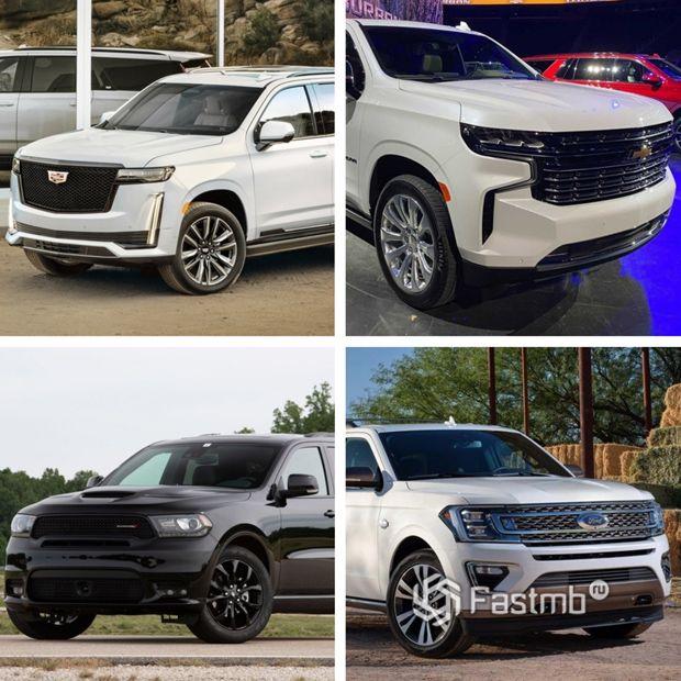 Конкуренты Jeep Wagoneer 2022