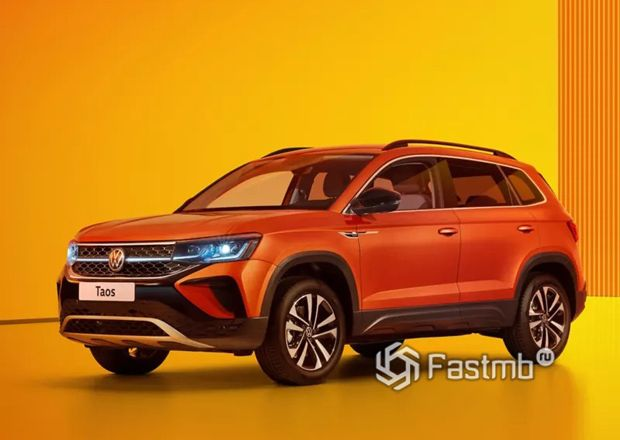 Volkswagen Taos 2021, светодиодная оптика