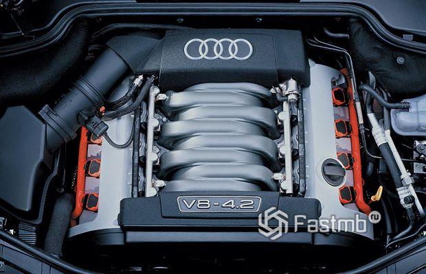 Двигатель V8 от компании Ауди