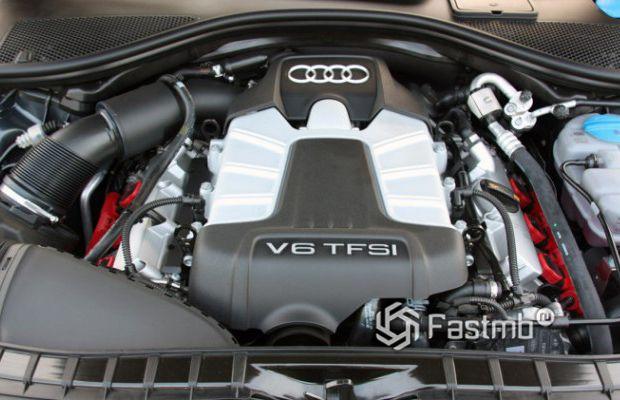 Бензиновый двигатель V6 от компании Ауди