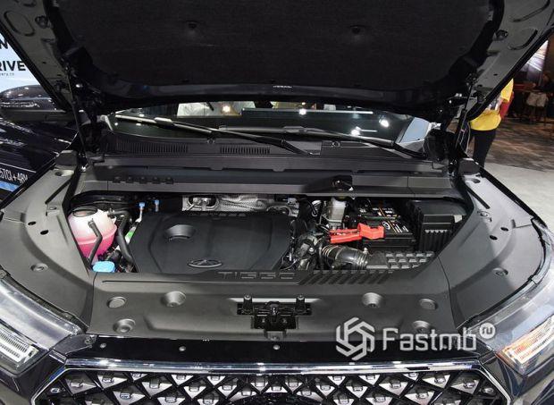Chery Tiggo 8 Pro 2021, двигатель кроссовера