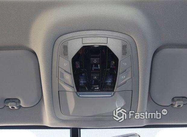 Chery Tiggo 8 Pro, панель управления панорамной крышей