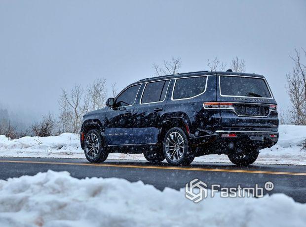 Jeep Grand Wagoneer 2022, колесные диски