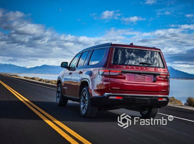 Jeep Wagoneer 2022, вид сзади