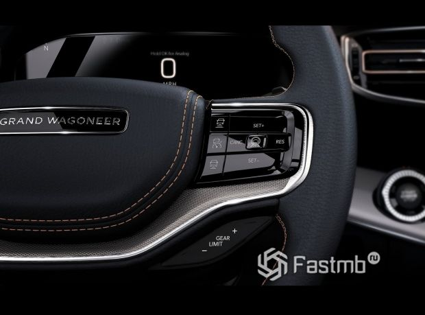 Jeep Grand Wagoneer 2022, функциональные кнопки