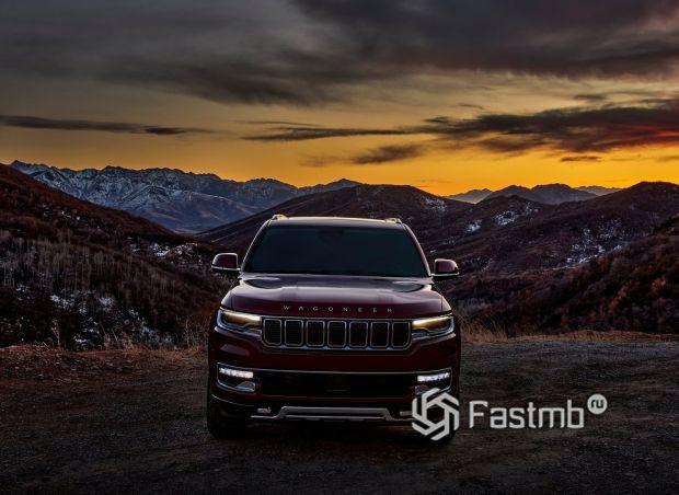 Jeep Wagoneer 2022, LED дневные ходовые огни