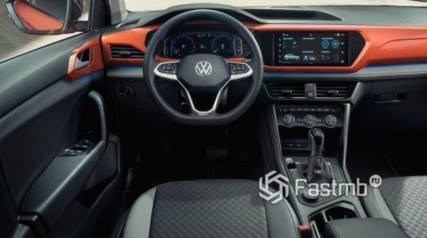 Volkswagen Taos 2021, передняя панель