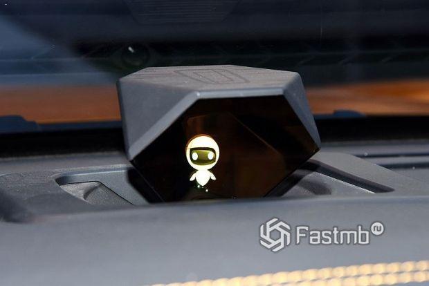 FAW Bestune T77 2021, виртуальный помощник