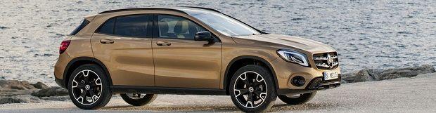 МКПП Mercedes-Benz GLA 2017