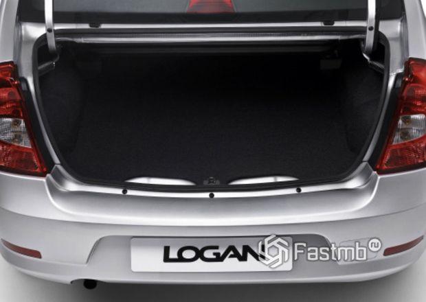 Renault Logan 2009 седан, багажное отделение