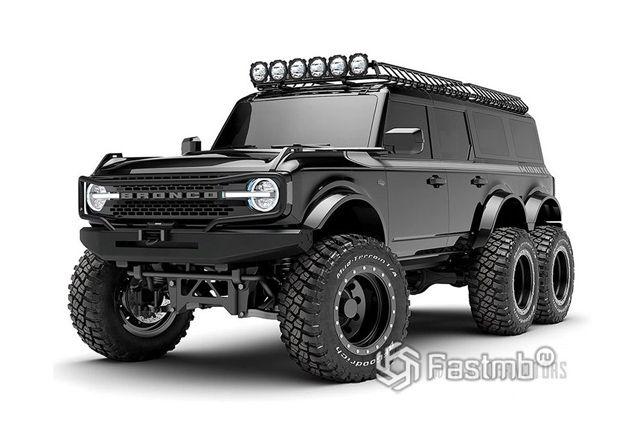 Ford Bronco 6x6 2022, вид спереди