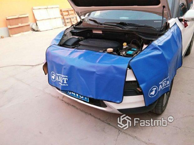 Достоинства использования магнитной накидки при самостоятельной рихтовке авто