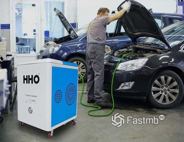 Чистка водородом – физика и химия в помощь автосервису