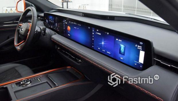 Ford Evos 2022, дисплей на передней панели