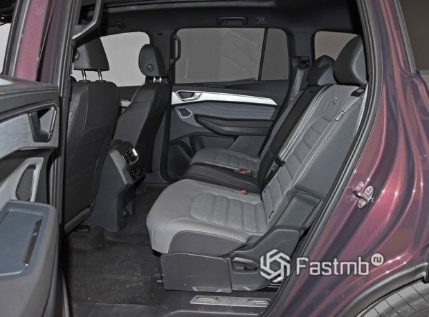 Volkswagen Talagon 2022, второй ряд сидений