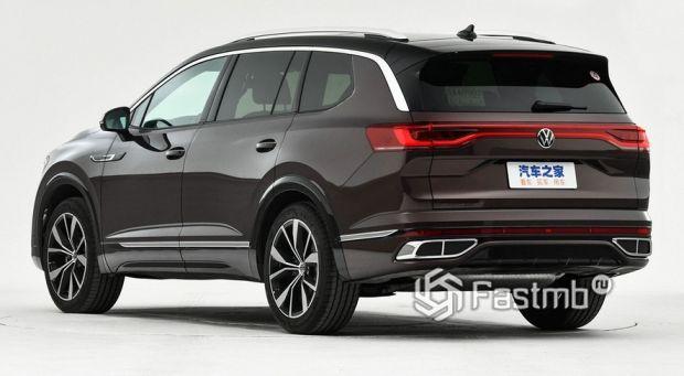 Volkswagen Talagon 2022, вид сзади