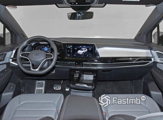 Volkswagen Talagon 2022, передняя панель
