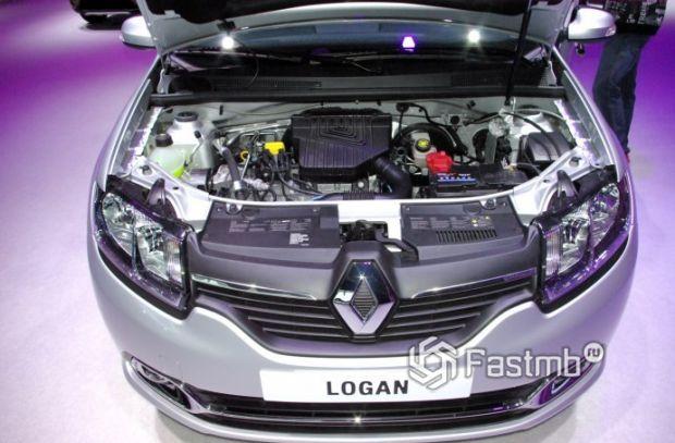 Renault Logan 2018, двигатель