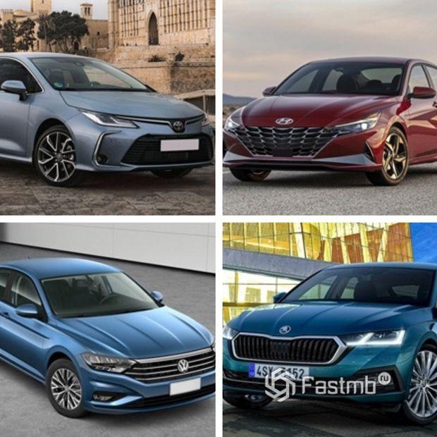 Конкуренты Honda Civic Sedan 2022