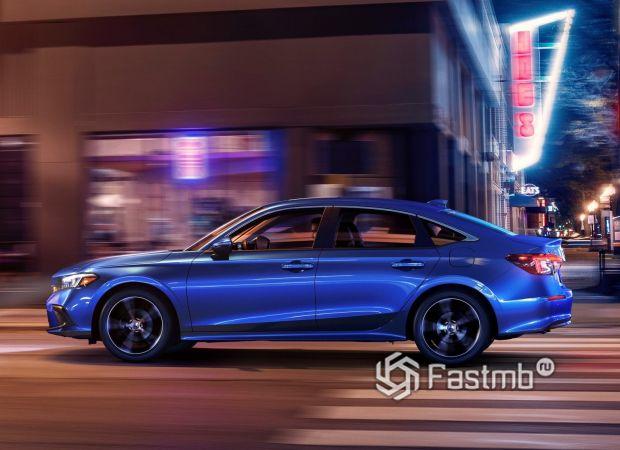 Honda Civic Sedan 2022, боковые зеркала
