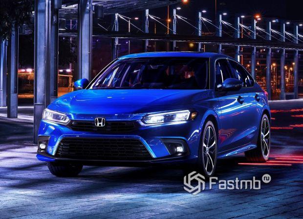 Honda Civic Sedan 2022, LED ходовые огни
