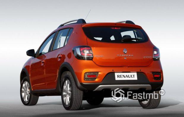 Renault Sandero Stepway 2013, вид сзади