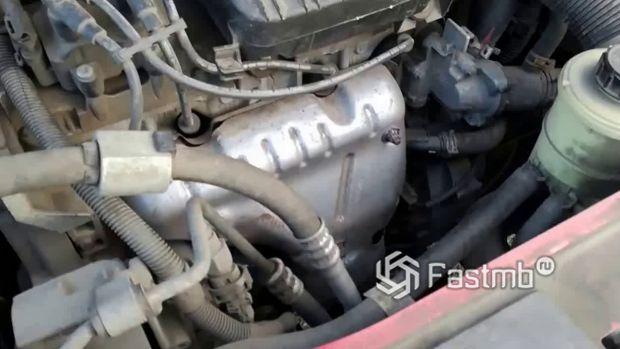 Renault Sandero Stepway 2010, двигатель