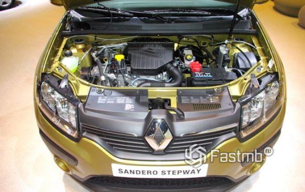 Renault Sandero Stepway 2013, двигатель
