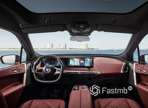 BMW iX Sport 2022, передняя панель