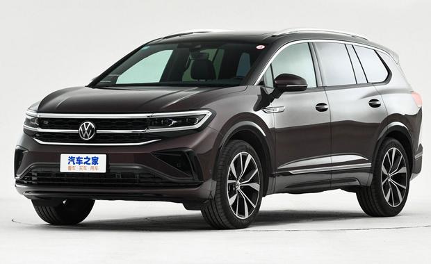 Volkswagen Talagon — самый большой кроссовер компании