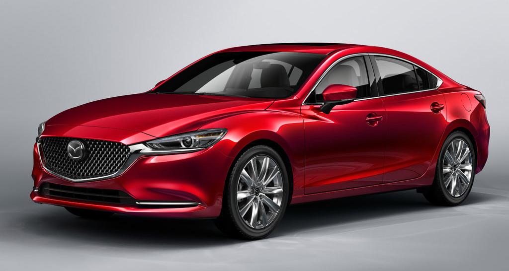 Mazda 6 2021 2-ой рестайлинг, вид спереди