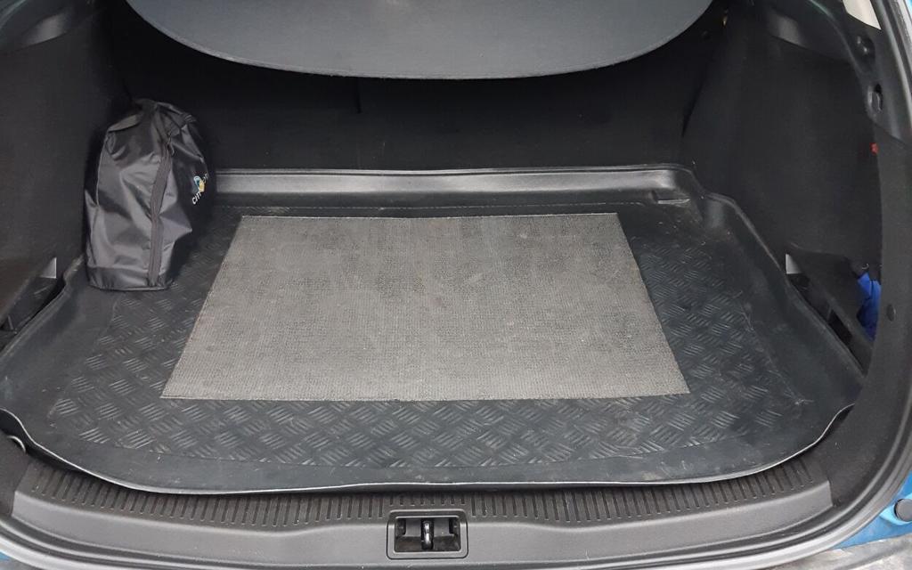 Renault Megane универсал 2014 2-ой рестайлинг, багажное отеделение